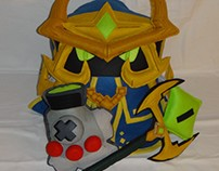Handmade League of Legends LOL Final Boss Veigar Pillow