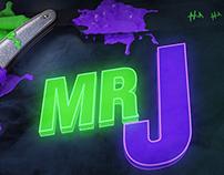 Mr J Main Title Design