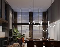 Living Room  Sunshine Apartmentby K-Render Studio