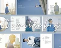 letter album design
