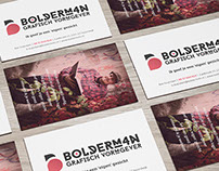 New bolderm4n Business Cards