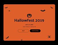 Hallowfest 2019