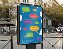Promotion poster for association | Plakat promocyjny