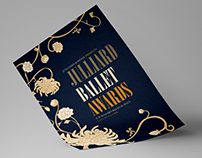 JUILLIARD BALLET AWARDS: Poster & Ad Design