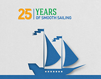 25 years of smooth sailing