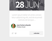 Intranet Mobile Cards Theme