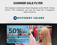 Summer Sales FLyer
