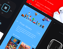 Cinemood — Mobile, Web & Device Applications