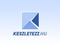 Keszletezz.hu logo design (2015)