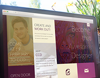 College for Coding and Design - Responsive webdesign