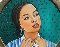 Saufeeya Goodson (oils on canvas)