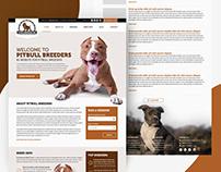 Pitbull Breeders Wordpress Theme