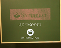 Direção de Arte - Institucional Santander