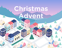 Interactive Christmas Advent Web Calendar
