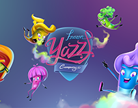 Character Design of FROZEN YAZZ COMPANY