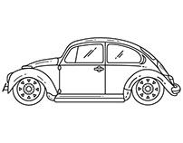 VW Beetle & Hungry Designers