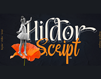 HILDOR - FREE MODERN DISPLAY FONT FAMILY