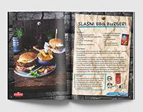 Commercial work; Cookbook for legendary Vegeta