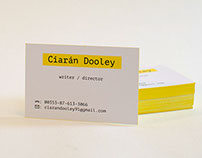 Ciarán Dooley Business Cards