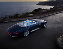 Vision Mercedes Maybach 6 Convertible