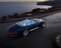 Vision Mercedes Maybach 6 Convertible