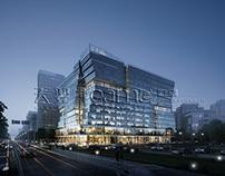 3D rendering for office buildings