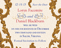 Save the Date: Loryn and Daniel