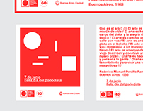 Buenos Aires Museum of Modern Art Flyers