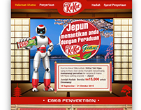 KitKat Green Tea Facebook App