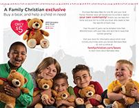Family Christian 2015 Barnabas Bear Promotion