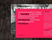 POINT BLANK - Flyer / Invitation