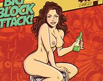 The Big Block Attack Poster