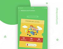 Card interaction design