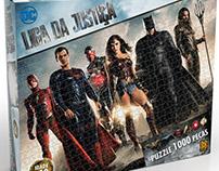 Puzzle 1000 peças Liga da Justiça