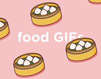 Food GIF collection