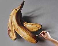 Painting Still Life Bananas