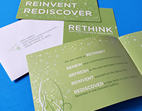 "Gala invitation: ""Rethink"""