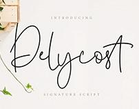 Delycost Script Font