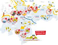 Deutschland kostenlos! Infoillustration