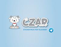 Czar Telegram Sticker Pack