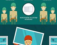 Florida Window Experts Infographic