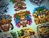 "Slot machine - ""Mayan Adventure"""