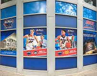 First Basketball Games at Wintrust Arena Window Banner