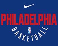 Free Vector Nike x NBA Design and Custom Font