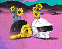 Daft Punk Tribute Poster