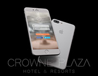 D&AD New Blood Awards - Crowne Plaza rebrand and app