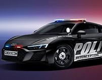 2020 Audi R8 Police Interceptor