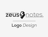Zeus Notes // Logo Design