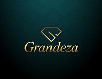 Logo design (logotype) for company Grandeza.