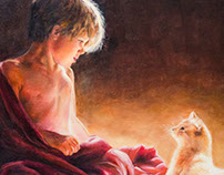 A Moment (oil painting)